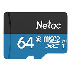 Netac P500 64GB Micro SD Memory Card