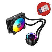 Bykski AIO Integrated 120mm RGB Liquid CPU Cooler (B-FRD120-RBW)