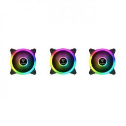 Gamdias AEOLUS M2 1203 Lite 120mm RGB PC Case & Radiator Fan (3 Fans Pack)