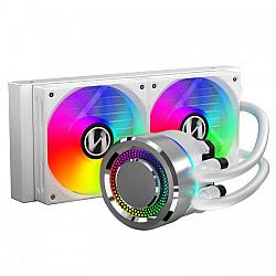 Lian Li Galahad 240mm Closed-Loop AIO Liquid CPU Cooler (White)