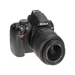 Nikon D3200 + 18-55mm Lens Kit +8GB