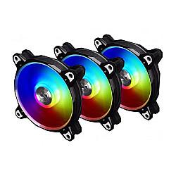 Lian Li Bora Digital 120mm RGB Cooling Fan (Black)