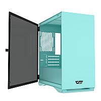 AIGO DARKFLASH DLM22 M-ATX GAMING CASE (Mint Green)