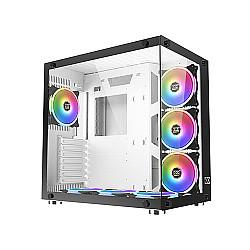 XIGMATEK Aquarius Plus White Tempered Glass ATX Case