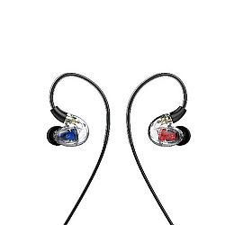 UiiSii CM8 Triple Hybrid Drivers Over-ear Detachable Earphones (Black)