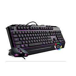 Cooler Master Devastator 3 Gaming Keyboard & Mouse Combo, 7 Color Mode LED Backlit