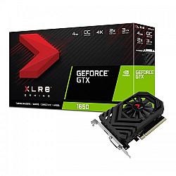 PNY GeForce GTX 1650 XLR8 OC Edition 4GB GDDR5 Gaming Graphics Card