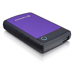 Transcend J25H3P 3TB 2.5 inch USB 3.0 Shock Resistance Portable External Hard Drive