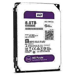 "Western Digital WD60PURZ 8TB 3.5"" Purple Hard Disk"