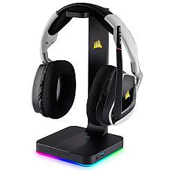 Corsair ST100 RGB Premium Headset Stand with 7.1 Surround Sound