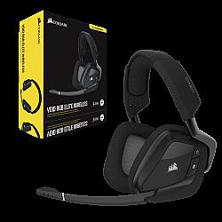 Corsair VOID RGB Elite Wireless Premium 7.1 Surround Sound Gaming Headset (Carbon)