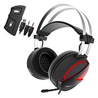 GAMDIAS HEBE E1 RGB  Stereo Remote  Gaming Headset