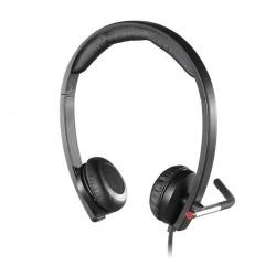 Logitech H650E USB Stereo Noise Cancelling Headset