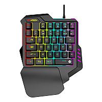 FANTECH ARCHER K512 RGB Waterproof Ergonomic 35Keys One-Hand Gaming Keyboard