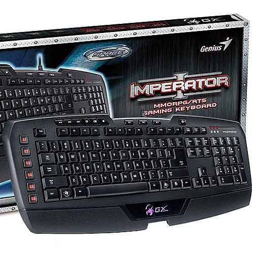 Genius GX Imperator Gaming Keyboard