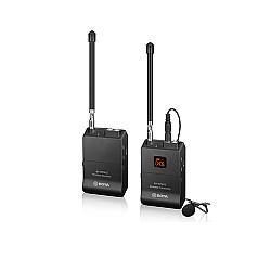 Boya By-wfm12 Vhf 12 Channel Wireless Microphone