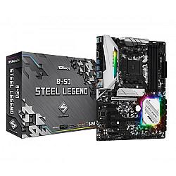 Asrock B450 Steel Legend AMD  Gaming Motherboard