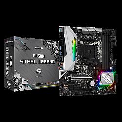 ASRock AMD B450M Steel Legend Gaming Motherboard