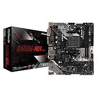 ASROCK B450M-HDV R4.0 AMD Motherboard