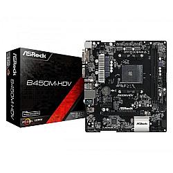 Asrock B450M-HDV AM4 Micro ATX AMD Motherboard