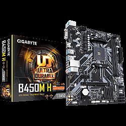 GIGABYTE B450M H Ultra Durable AMD AM4 Micro-ATX Motherboard