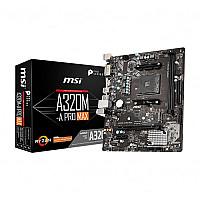 MSI A320M-A PRO MAX AM4 Micro-ATX AMD Gaming Motherboard