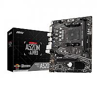 MSI A520M-A PRO AM4 AMD ATX Motherboard