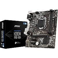MSI H310M PRO-VDH 8th Gen DDR4 LGA 1151 Micro-ATX Motherboard