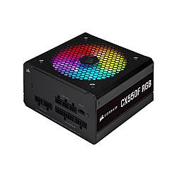 Corsair CX550F RGB 550 Watt 80 Plus Bronze Certified Fully Modular RGB Power Supply
