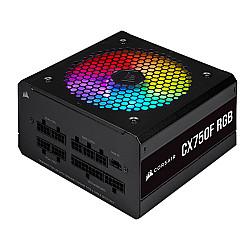 Corsair CX750F RGB 750 Watt 80 Plus Bronze Certified Fully Modular RGB Power Supply