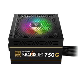 Gamdias Kratos P1-750G 750W Addressable RGB Gold Certified Power Supply
