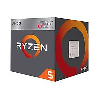 AMD Ryzen 5 2400G Radeon RX Vega 11 Graphics Desktop Processor (No Single)