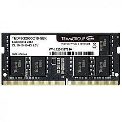 TEAM ELITE 8GB 2666MHz DDR4 Laptop RAM