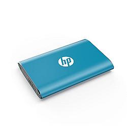 HP P500 500GB Portable SSD -Blue