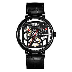 XIAOMI CIGA Design Creative Leather Strap Automatic Mechanical Men Watch