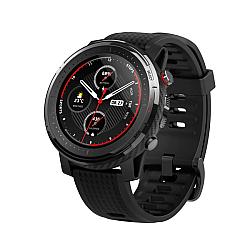 "Xiaomi Amazfit A1929 Stratos 3 1.34"" Round Shape Touch Screen Smart Watch (Black)"