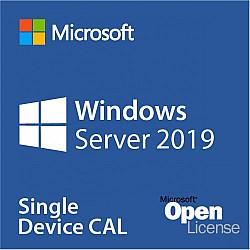 Microsoft Windows Server 2019 License, 1 user CAL, Open License