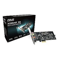 Asus Xonar SE 5.1 PCIe Gaming Sound Card