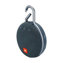 JBL Clip 3 Blue Portable Bluetooth Speaker -blue