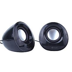 Kisonli A202  Dual 3W 3.5mm USB 2.0 Mini Computer Speaker