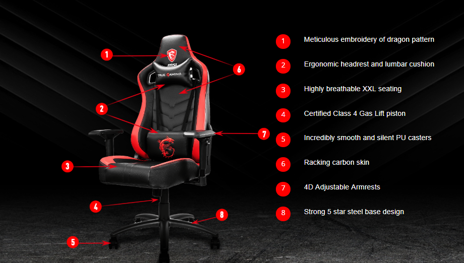 Msi Mag Ch110 Gaming Chair Price In Bangladesh